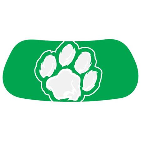 Green/White Paw EyeBlacks