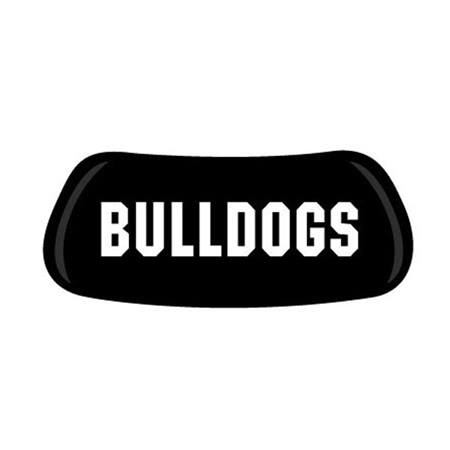 Bulldogs EyeBlacks - Pair
