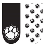 Spirit Nails - Black and White Paws