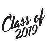 Class of 2019 Temporary Tattoos - Script Font