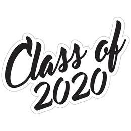 Class of 2020 Temporary Tattoos - Script Font