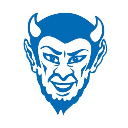Blue Devil Temporary Tattoos