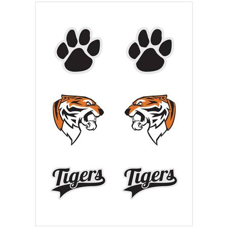 Body Decals - Tiger