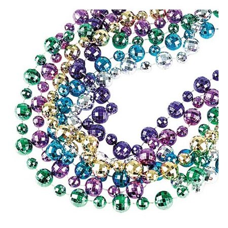 44 in. Disco Ball Beads