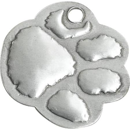Embossed Dog Tag - Paw