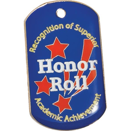 Enamel Dog Tag - Honor Roll