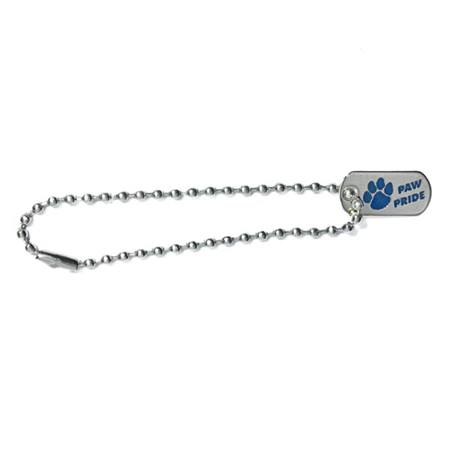 Mini Dog Tag - Blue Paw Pride