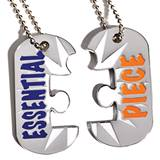 Essential Piece Puzzle Dog Tag