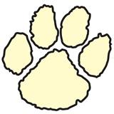Paw Temporary Tattoo - Glow-in-the-Dark