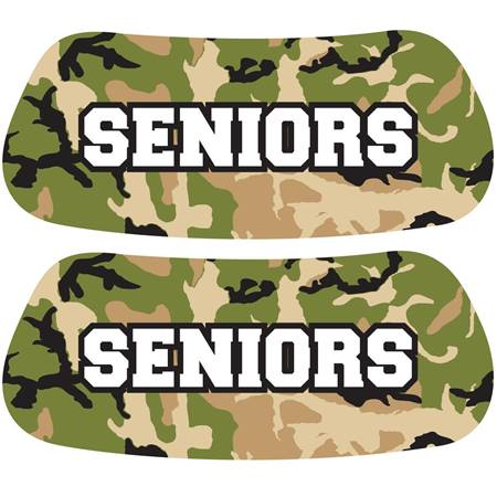 Seniors Camouflage EyeBlacks