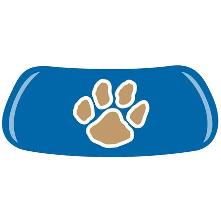 Blue EyeBlack Set w Gold Paw
