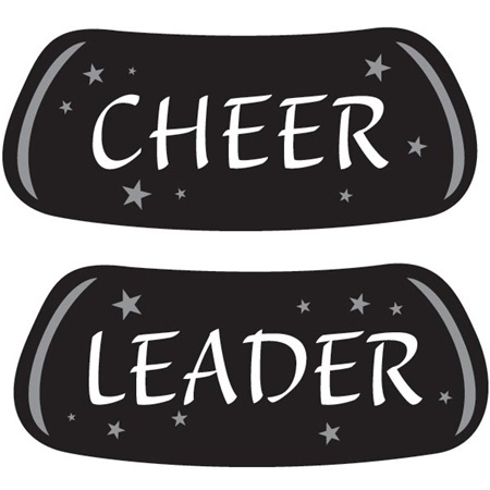 Cheer Leader Eyeblack Set