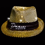 Light-up Fedora With Full-color Band