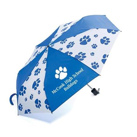 Custom Paw Print Umbrella
