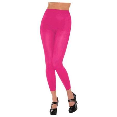 Pink Footless Spirit Tights