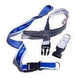 Pattern Edge Lanyard - Split Ring and Buckle