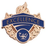 Blue/Gold Award Pin - Excellence
