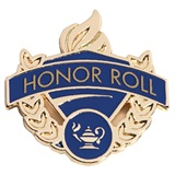 Blue/Gold Award Pin - Honor Roll