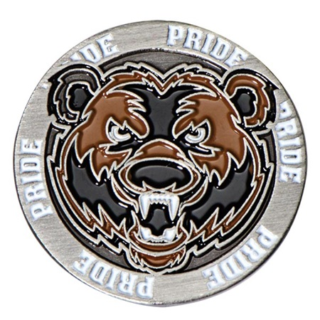 Mascot Lapel Pin - Bear Pride