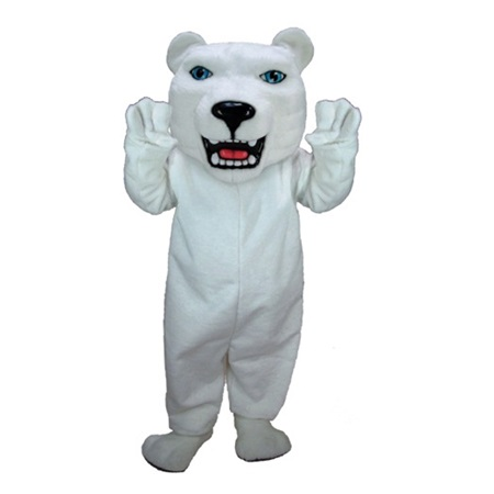 Snow Bear Mascot Costume