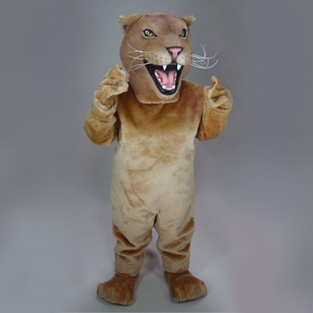 Female Lion Mascot Costume