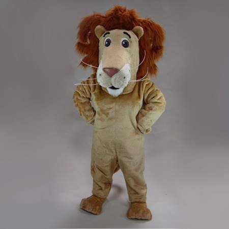 Lovable Lion Mascot Costume