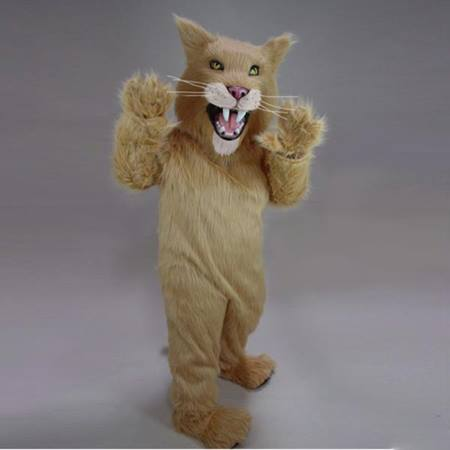 Saber Tooth Cat Mascot Costume