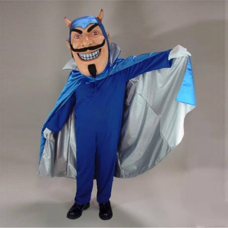 Blue Devil Mascot Costume