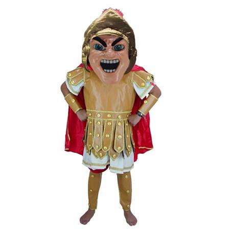 Fierce Trojan Mascot Costume