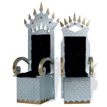 Royalty thrones kit anderson 39 s for Diy king throne chair