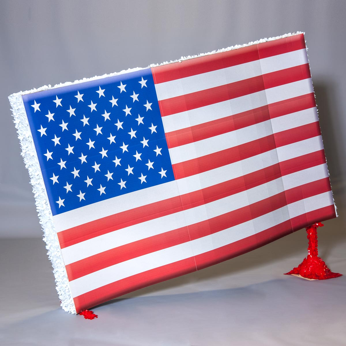 American Flag On Stand Parade Float Kit Anderson S