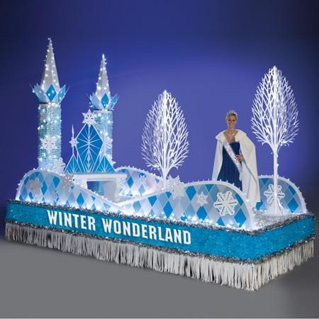 Winter Wonderland Parade Float | Anderson's