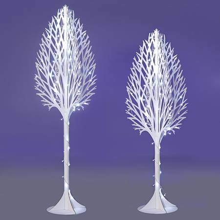 Snowflake Tree Parade Float Kit