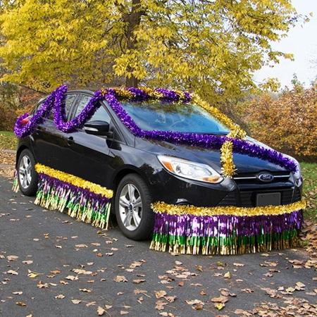 Car Parade Float Decoration Kit Metallic