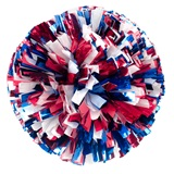 Three-color Mix Metallic Pom, 6 in.