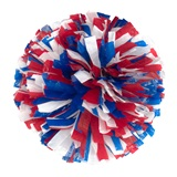 Wetlook Three Color Pom-Poms - 8 in
