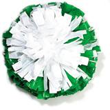 Wetlook Two Color Target Pom-Poms - 8 in