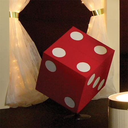 Shaken, Not Rolled Red Dice Kit