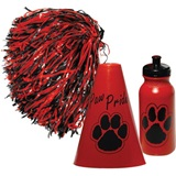 Red/Black Megaphone Set