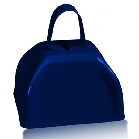 Navy Blue Cowbell - Blank