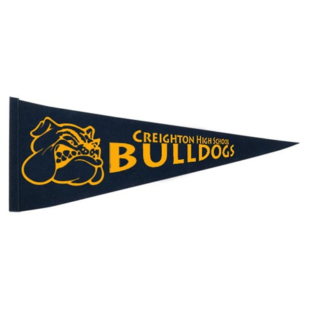 12 x 30 in. Pennant