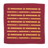 Homecoming Bandana - Maroon and Gold