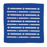 Homecoming Bandana - Royal Blue and White