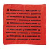 Homecoming Bandana - Red and Black