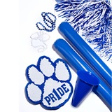 Blue/White Deluxe Paw Pride Set