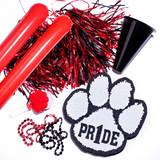 Red/Black Deluxe Paw Pride Set