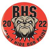 2.25 in. Custom Button - Bulldog Pride