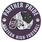 "2 1/4"" Custom Button - Panther Pride"