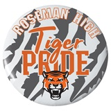 2.25 in. Custom Button - Tiger Pride