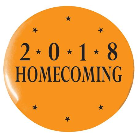 "3"" Custom Button - Homecoming 2018"